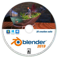 Blender 3D Animation Studio Professional Graphics Film Software for Windows