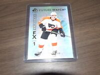 2017-18 UD  SP Authentic Future Watch Spectrum FX #S-68 Travis Sanheim