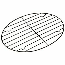 Fox Run Nonstick Oval Roasting/Cooling Rack, 11.75 x 10.5 Inches