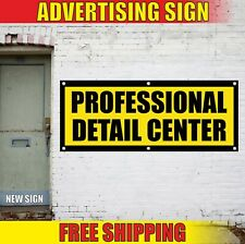 Detail Center Banner Advertising Vinyl Sign Flag Auto Car Repair Professional 24
