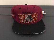 International Hockey League #1 Vintage Snapback Chicago Wolves Rare New Hat
