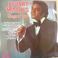 vinyl LP JOHNNY MATHIS sings of love, shm 749