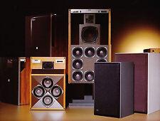 Revox Speaker Line UP for 1980 Audio Showroom Poster 13 x 17 Giclee print