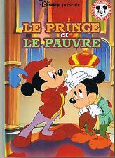 Le Prince et le Pauvre * Disney * Hachette * album rigide enfant