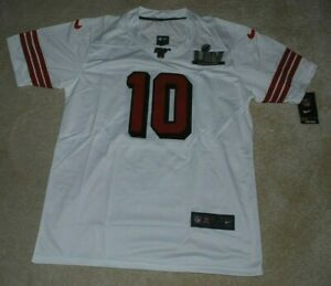 SAN FRANCISCO 49ERS SUPER BOWL LIV 2020 JERSEY SHIRT JIMMY GAROPPOLO EXTRA LARGE