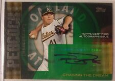 2013 Topps Chasing the Dream Brad Peacock AUTO #CDA-BP Oakland ATHLETICS