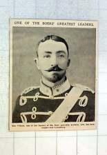 1902 Ben Viljoen, One Of The Boer's Greatest Leaders Caught Near Leydenburg