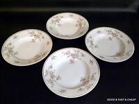 "4 pcs JOHANN HAVILAND china PICTURED E424  pattern ~ 4 Rim Soup Bowls ~ 8 1/4"""