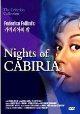 Nights Of Cabiria (1957) New Sealed DVD Giulietta Masina