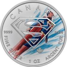 Canada 2016 5$ Superman Flying 1 oz Silver BU Coin