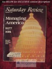 Saturday Review December 11 1976 MANAGING AMERICA BARRY BLECHMAN STANLEY KARNOW