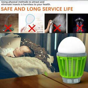 Lampe Solaire Portable anti-moustique photocatalyseur Tueur moustique et insecte