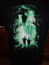 (W) The X-Files black no tag t-shirt, American science-fiction franchise