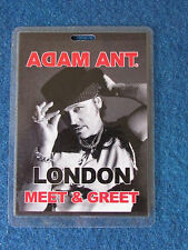 Adam Ant - Concert Laminated Pass - London