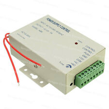 AC 110~240V 50-60HZ to DC12v 3A 36w Power Supply Controller for access control