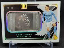 2020-21 Panini Impeccable Phil Foden Fine Silver Troy 26/29 Manchester City