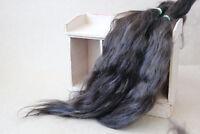 "Mohair Doll Hair Combed locks chestnut brown 8-12"" 0.35 oz locks angora organic"
