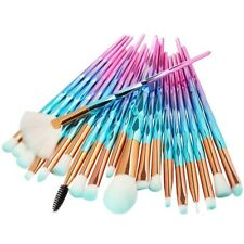 20Pcs Diamond Beauty Make Up Brush Set Powder Foundation Blush Blending Eye shad