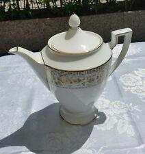 Bavaria Royal Tettau Teiera Filo Oro1974 Germany Porcellana Ceramica The
