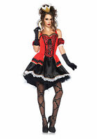 Sexy Wonderland Queen of Hearts Women's Adult Halloween Costume Brand New