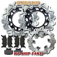 Yamaha F+R Brake Rotor + Pads XJ 600 S/N Diversion 1998 1999 2000 2001 2002 2003