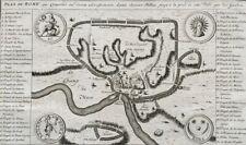 CARTE PLAN DE ROME (Humblot) Italie renaissance Servius Tullius roma italia