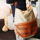 2015 Women Fashion Canvas Handbag Backpack Rucksack School Bag Shoulder Bag Pop