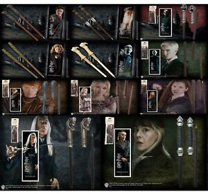 Harry Potter Wand Pen and Bookmark Gift Set Noble Hermione Voldemort Dumbledore