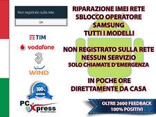 RIPARAZIONE IMEI SBLOCCO SAMSUNG NO RETE BLACKLIST S6 PLUS G928F REPAIR FIX
