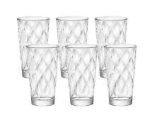 6 Cocktailgläser 370ml Saft-Wasser Gläser Teeggläser Longdrink Glas KALEIBI