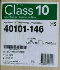 "200 pairs Vwr Certiclean Class 10 Latex Gloves 12"", Ambidextrous - Size Small"