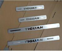 New Stainless Steel Scuff Plate Door sill Trim For Volkswagen Tiguan MK2 2017-19
