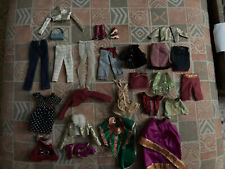 Mattel Barbie Doll Clothing Lot 27 pc DRESSES TOPS SKIRT Clothes Lot