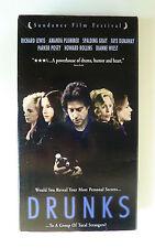 Drunks (VHS, 1995) Richard Lewis Faye Dunaway Dianne Wiest Rare OOP Ex-rental