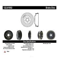 Brake Drum-Premium Drum - Preferred Rear Centric 122.61002