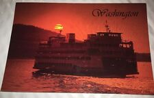 Washington State Ferries Postcard Sunset Cruise San Juan Islands