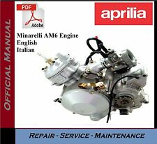 Aprilia AM6 Minarelli Engine Workshop Repair Manual