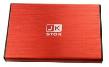 "(JKStor) : 500GB External USB 3.0 Portable 2.5"" SATA External Hard Drive  - RED"