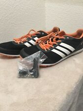 Adidas DistanceStar Size 9.5 Men's Distance Spikes w/t Spikes and Tool