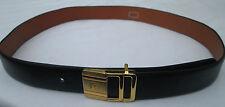 - AUTHENTIQUE    ceinture  PIERRE CARDIN  cuir  TBEG  vintage