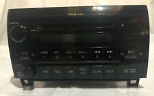 2008 TUNDRA STEREO CD PLAYER 86120-0C211