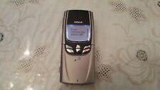 Nokia 8850 - Metallic Silver (Unlocked) Mobile Phone Titanium