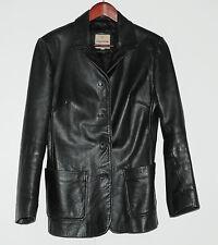 Veste cuir noir CHEVIGNON Taille 38 FR Bon état