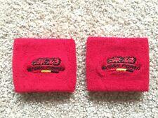 Mugen Honda 2 x Clutch Brake Oil Reservoir Fluid Tank Cover Sock Red Set