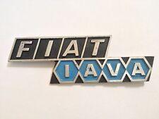 Fiat 128 IAVA Rear Emblem Argentina -USED- #806D