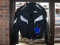 Spidi Race H2OUT Waterproof Motorcycle Riding Jacket-Black  56 (XXL/2XL) -In Stk
