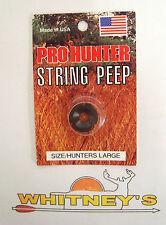 Gws Pro Hunter String Peep Large Black 10084
