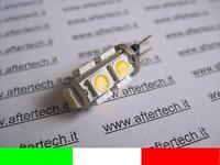 G4 LAMPADINA FARETTO RICAMBIO ALOGENA 9 LED SMD5050 BIANCO CALDO  v19