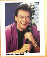 Ronnie Prophet-signed photo-22