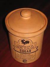 """Ceramiche Di Firenze/Toscana """" SUGAR-ZUCCHERO """" Terracotta/Ideale Per La Cucina"""